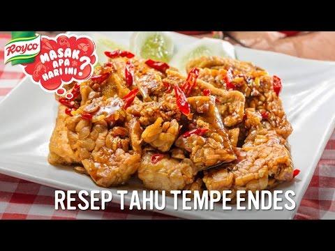 Resep Tahu Tempe Endes (Enak Pedes)