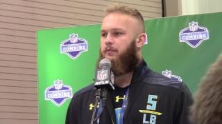 Ben Boulware, LB, Clemson   2017 NFL Scouting Combine