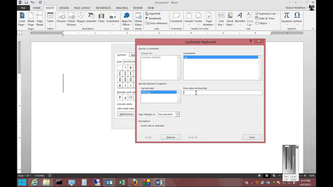How to save time by creating shortcuts to symbols in microsoft how to save time by creating shortcuts to symbols in microsoft word 2013 biocorpaavc Gallery