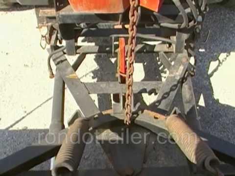 Western unimount 7'6 plow IN ACTION  YouTube