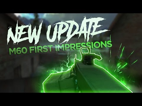 Bullet Force: MY FIRST IMPRESSION OF M60!!! [New Update]
