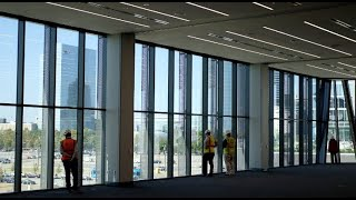 A glimpse inside the new convention center
