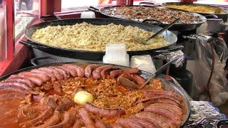 Street Food from France Tasted in Italy for the French Festival in Turin
