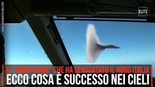 Esplosioni in Lombardia, aerei rompono il muro del suono: ecco cosa è successo