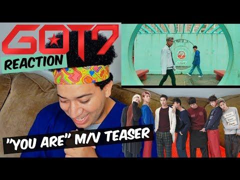 """got7-""""you-are""""-m/v-teaser-reaction"""