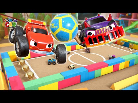 World Cup! Play Soccer With Tomoncar| Nursery Rhyme Kids Songs Tomoncar World