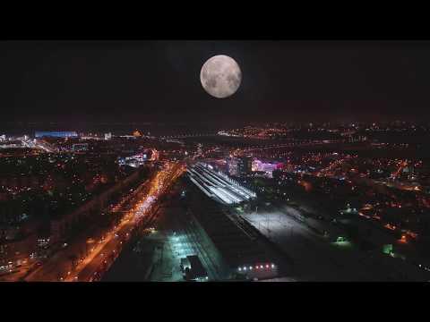 Фантастическая Луна Над Нижним Новгородом
