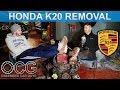 Honda K20 Removal - Porsche 924 K20 Build #12