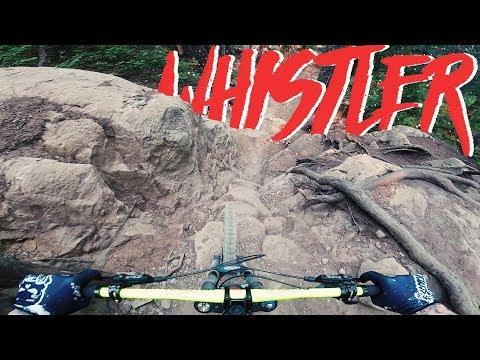 Der obere Teil des Whistler Bikeparks   Kanada Trip   Fabio Schäfer Vlog #88