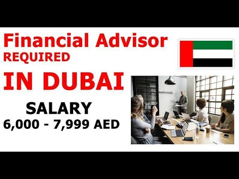 Financial Advisor REQUIRED IN DUBAI| How to Apply | Banking Finance Jobs in Dubai UAE
