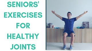 Healthy Joint Exercises For Seniors | Gentle Chair Exercises For Seniors
