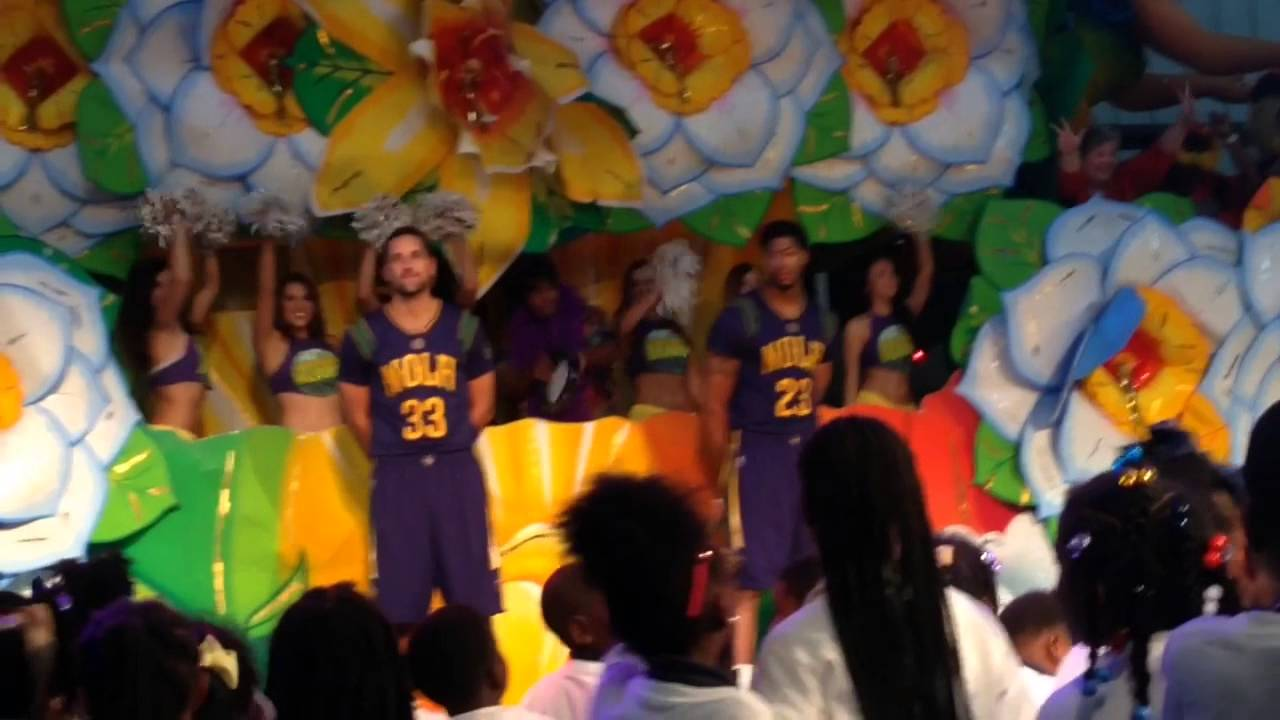 New Orleans Pelicans Unveil Mardi Gras Themed Jersey Video