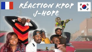 RÉACTION KPOP !  J-Hope 'Chicken Noodle Soup (feat. Becky G)'