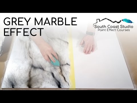 Grey Marble Effect