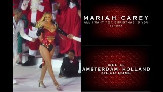 mariah carey - all i want for christmas is you live in concert (amsterdam)