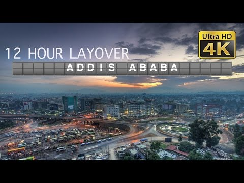 DIY Layover (4K) - 12 Hour in Addis Ababa: Holy Trinity Cathedral, National Museum, Merkato (2017)