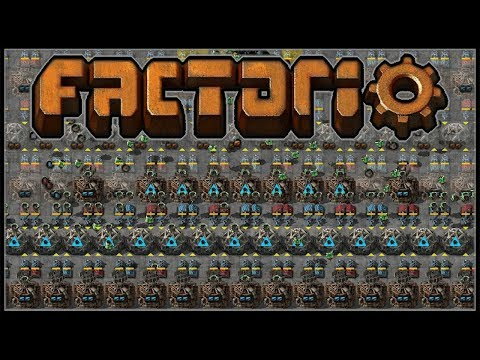 Factorio Recursion Recursion #19 - Filled In Factory Floors
