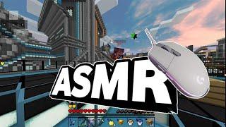 마인크래프트 듀얼 키보드+마우스 ASMR ㅣ하이픽셀