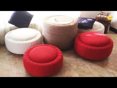Красивая мебель для дома и дачи из автошин (покрышек) своими руками DIY