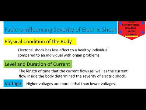 Environment, Health and Safety: Electrical Hazards