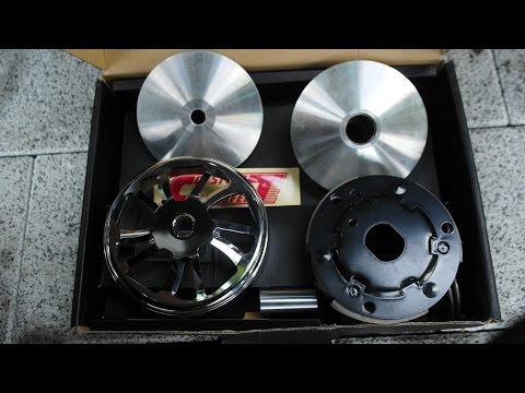 SUZUKI ADDRESS CT MOTO Pulley & clutch work