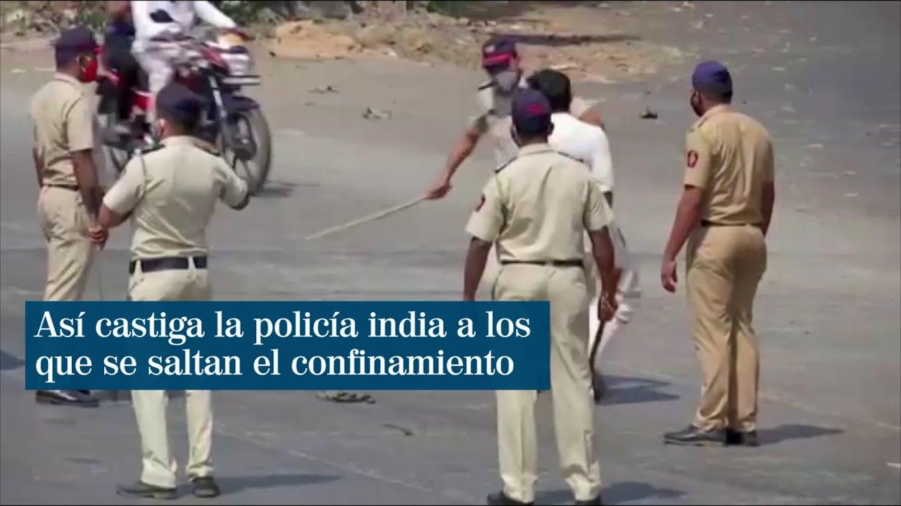 Resultado de imagen de india castiga con palos