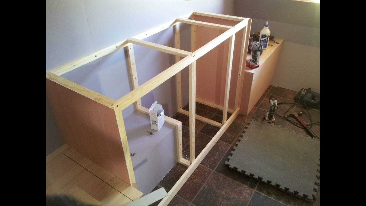 How To Build A DIY Travel Trailer - Part 16 (Kitchenette ...