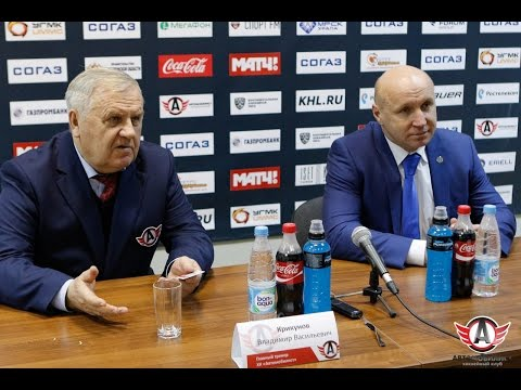 """Пресс-конференция: """"Автомобилист"""" - """"Барыс"""", 7.12.2016"""