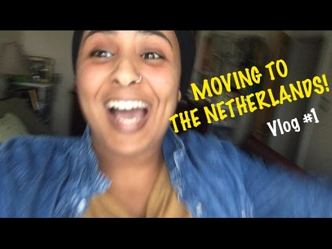 Moving To The Netherlands - Vlog #1