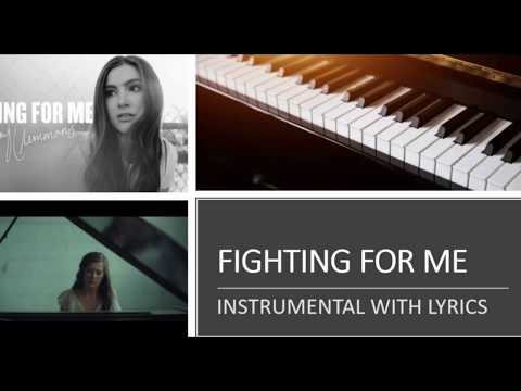 Riley Clemmons - Fighting For Me - Piano Version (Accompaniment Instrumental Cover)