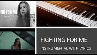 Download Riley Clemmons - Fighting for Me - Piano Version (Accompaniment Instrumental Cover) Mp3 and Videos