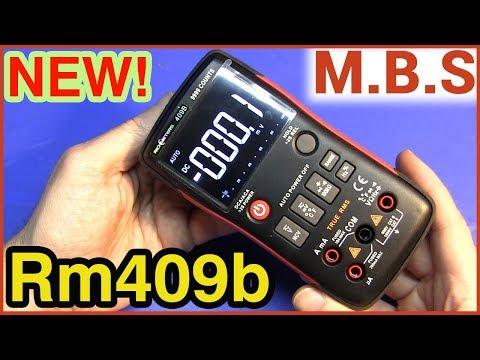 RM409b Digital MULTIMETER Обзор нового мультиметра RICHMETERS