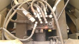 Hydraulic control valve repair