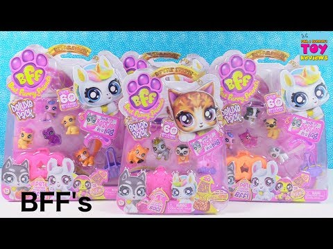 BFF Best Furry Friends Squad Pack Deluxe Pet Toy Opening Review | PSToyReviews