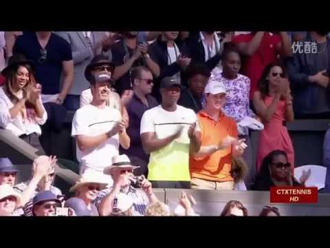 Serena Williams VS Maria Sharapova Highlight 2015 WC Semifinal