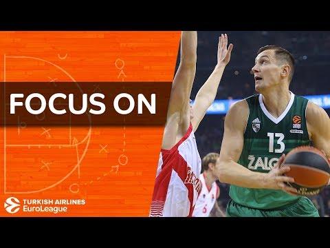 Focus on: Paulius Jankunas, Zalgiris Kaunas