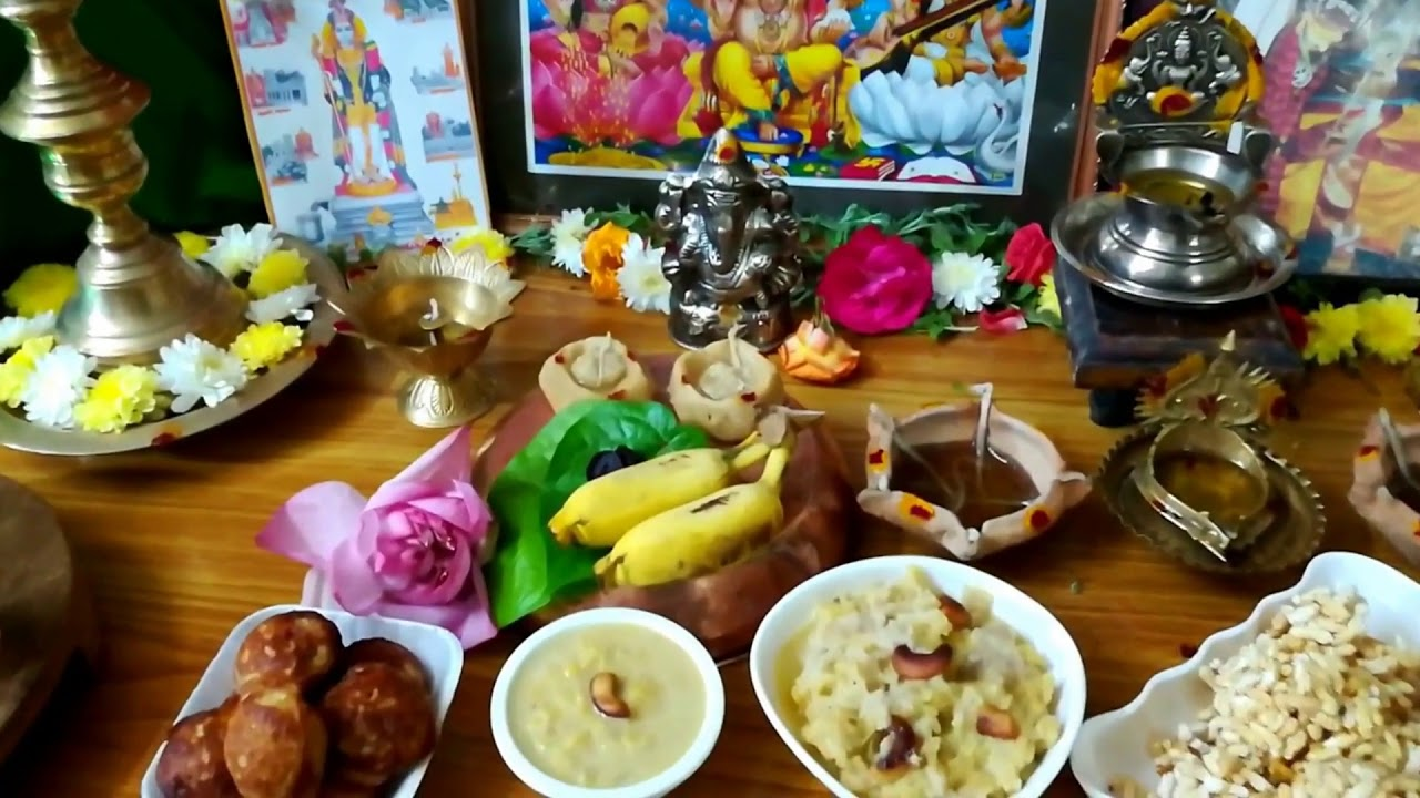 karthigai deepam decoration in home and step by step pooja ...
