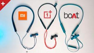 Best Bluetooth Earphones Under ₹2000 - OnePlus, Boat or Xiaomi?