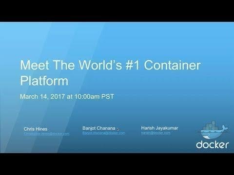 Meet The World's #1 Enterprise Container Platform