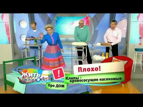 Елена Малышева о клопах