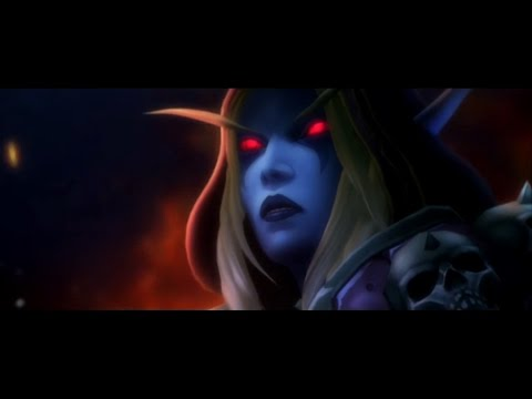 World Of Warcraft Wow - Все катсцены препатча Легион - Орда и Альянс