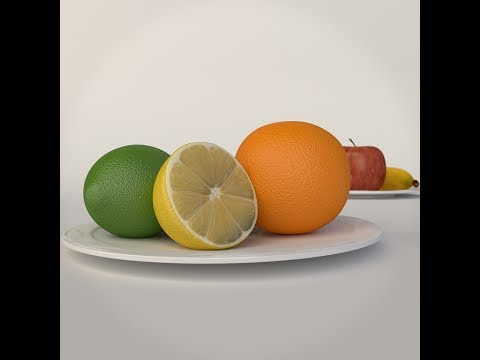 How to Create Realistic Fruit in Blender