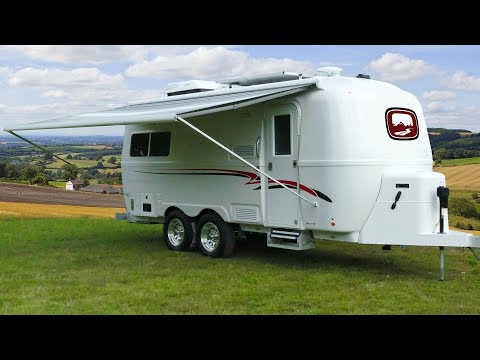 Luxury Fiberglass Camper By Oliver Travel Trailers | Small Travel Trailers
