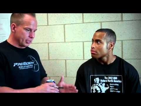 Top Prospect Brook Wilkerling Post Prejudging Interview at the 2012 ABA Natural North America