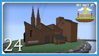 FTB Sky Factory 3 | Factory Exterior! | E24 (Modded Skyblock Minecraft 1.10.2)