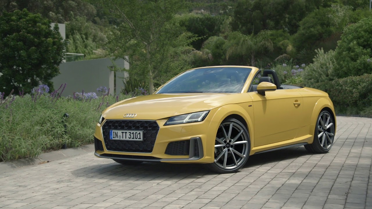 2019 Audi TT Facelift Video Debut