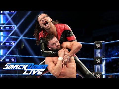 Finn Bálor vs. Shinsuke Nakamura: SmackDown LIVE, July 9, 2019