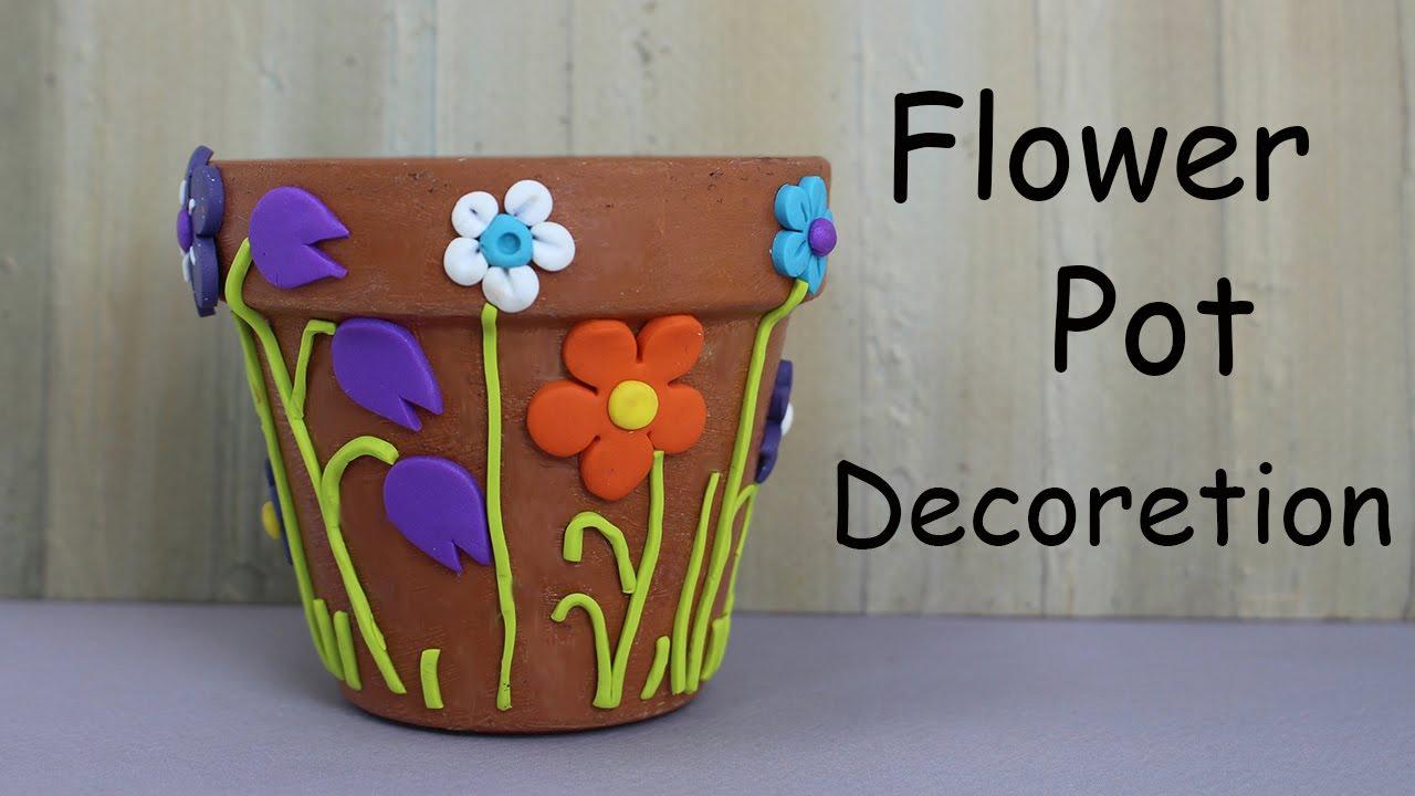 Flower Pot Decoration With Clay | www.pixshark.com ...
