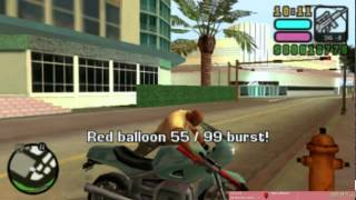 Grand Theft Auto: Vice City Stories 99 Red Balloons Speedrun in 45:48 [PSP]