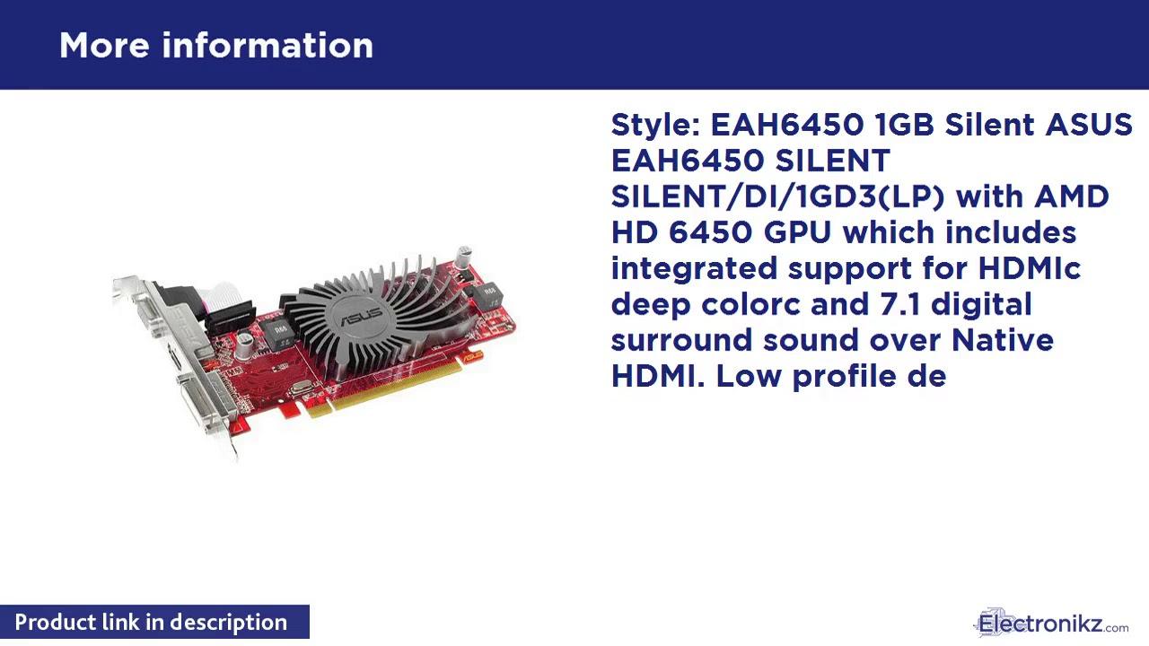 ASUS ATI RADEON HD 6450 EAH6450 SILENTDI1GD3(LP) WINDOWS 10 DRIVER DOWNLOAD